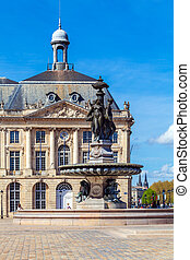 Place de la Bourse, Bordeaux, France - Place de la Bourse...