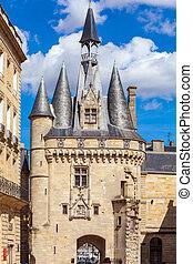 Remaining of City Towers, Bordeaux - Porte Cailhau XV-XVI c,...