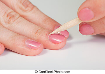 Procedure for Nail Care - Cuticle removal - The Procedure...