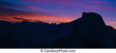 Yosemite National Park Sunrise Glacier Point 5k - Yosemite...