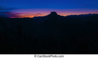 Yosemite National Park Sunrise Glacier Point Half Dome...
