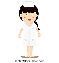 Illustrator of nurse
