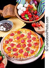 Pizza Mexicana - Hot Pizza Mexicana