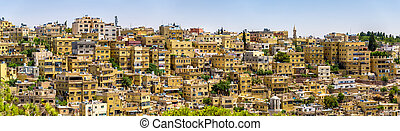 Panorama of Amman, Jordan - Panorama of Amman, the capital...