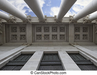 Architectural Ceiling of Capital Building