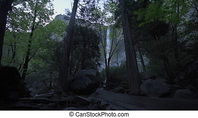 Trail to Bridalveil Falls Yosemite National Park -...