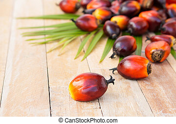 Commercial palm oil cultivation. Since palm oil contains...