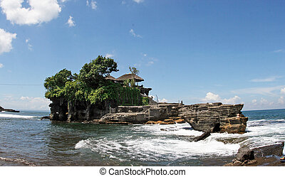 """Tanah Lot Temple - Tanah Lot means \""""Land Sea\"""" in Balinese..."""