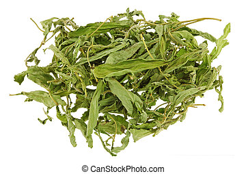 Dried Stevia leaves (sweet leaf, Sugar leaf) a sweetener and...