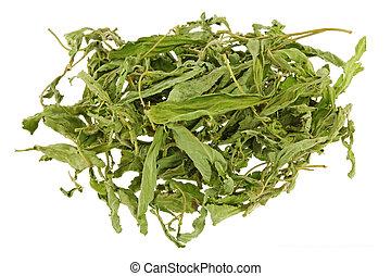 Dried Stevia leaves (sweet leaf, Sugar leaf) a sweetener and...