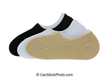 Low cut ankle socks in simple color. Comfortable soft socks...