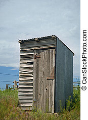 Outhouse on an old farm