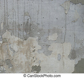dirty gray wall with odd upwards drips