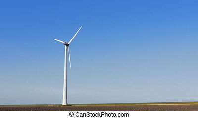 Single wind turbine near field - Single wind turbine at a...