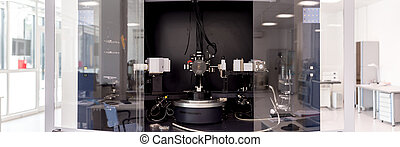 Particle accelerator in the laboratory, a complex...