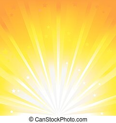Abstract Orange Vector Background