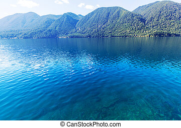Crescent lake - Lake Crescent in Washington, USA