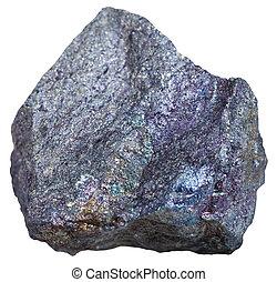 Bornite (peacock ore, peacock copper) rock - macro shooting...