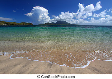 Majors Bay Beach - St Kitts - Major\\\'s Bay Beach on the...