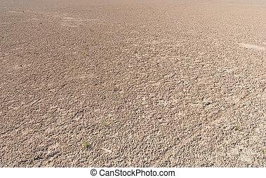 Dried salt lake shore - Dried salt lake Kuyalnik shore ,...