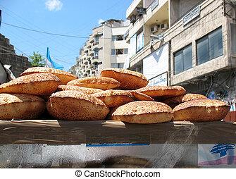Kaak Cart - A street vendors kaak cart containing this...