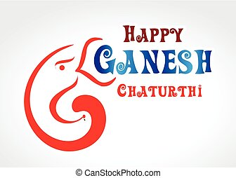 happy ganesh Chaturthi Text background.eps - happy ganesh...