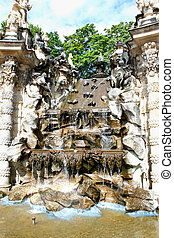 The Zwinger (Der Dresdner Zwinger) is a palace in Dresden,...