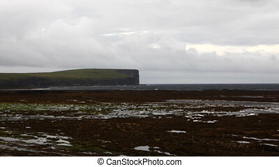 View towards Marwick Head, Orkney, Scotland - A View towards...