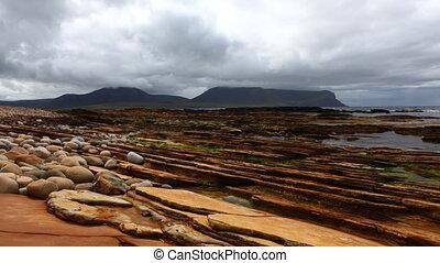 Timelapse of Warbeth Beach in Orkney, Scotland - A Timelapse...