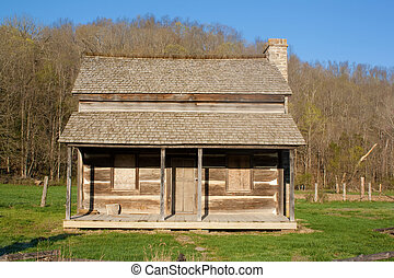 Homestead - The original house on a homestead in Reynolds...