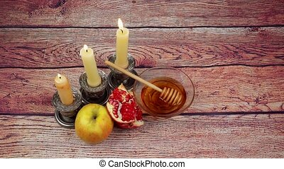 Rosh Hashanah Jewish New Year - Rosh Hashanah celebration....