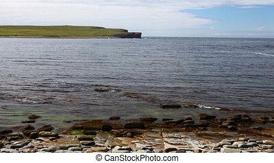 Bay of Skaiil, Orkney, Scotland - The Bay of Skaiil, Orkney,...
