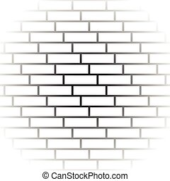 Brickwall / stone wall repeatable pattern with irregular...