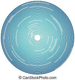 aleatorio, Segmentar, círculos, /, anillos, radial,...