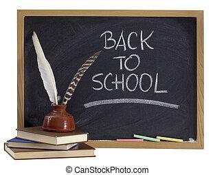 back to school - retro concept