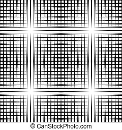 Grid mesh pattern with irregular lines - Seamlessly...