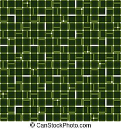 Irregular grid mesh with squares. Seamlessly repeatable...