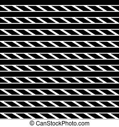 Geometric seamless monochrome pattern with parallelograms,...