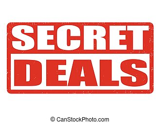 Secret deals stamp