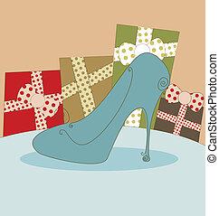 Shoe Fashion Background