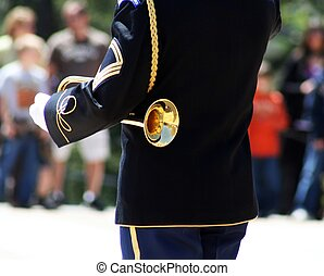 Guarding Tomb of Unknown Soldier 3 - One of the proud...