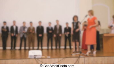 Presentation of certificates to the pupil - Presentation of...