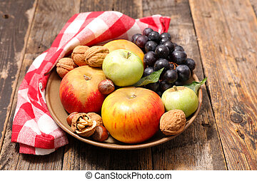 assortment of fresh fruit