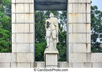 Roger Williams Statue - Prospect Terrace Park - Prospect...