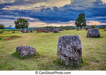 Plain of Jars.