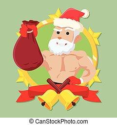 strong santa clause