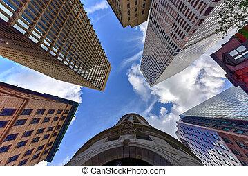 Turk's Head Building - Providence, Rhode Island - Upward...