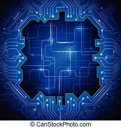 Vector abstract technology - Abstract Technology circuit...
