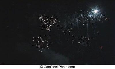 big firework part II - colorful, big firework part II of II