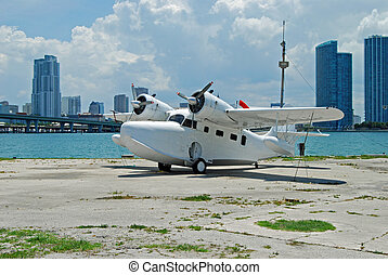 Twin Engined Seaplane used primarily for passenger charter...